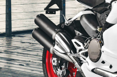 Ducati 959 Panigale Exhaust View