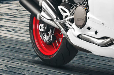 Ducati 959 Panigale Rear Tyre View