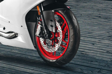 Ducati 959 Panigale Front Tyre View