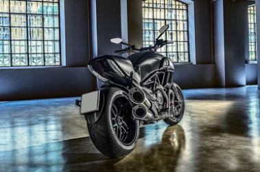 Ducati Diavel Rear Right View