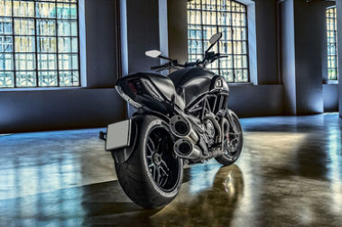 Ducati Diavel Rear Right View