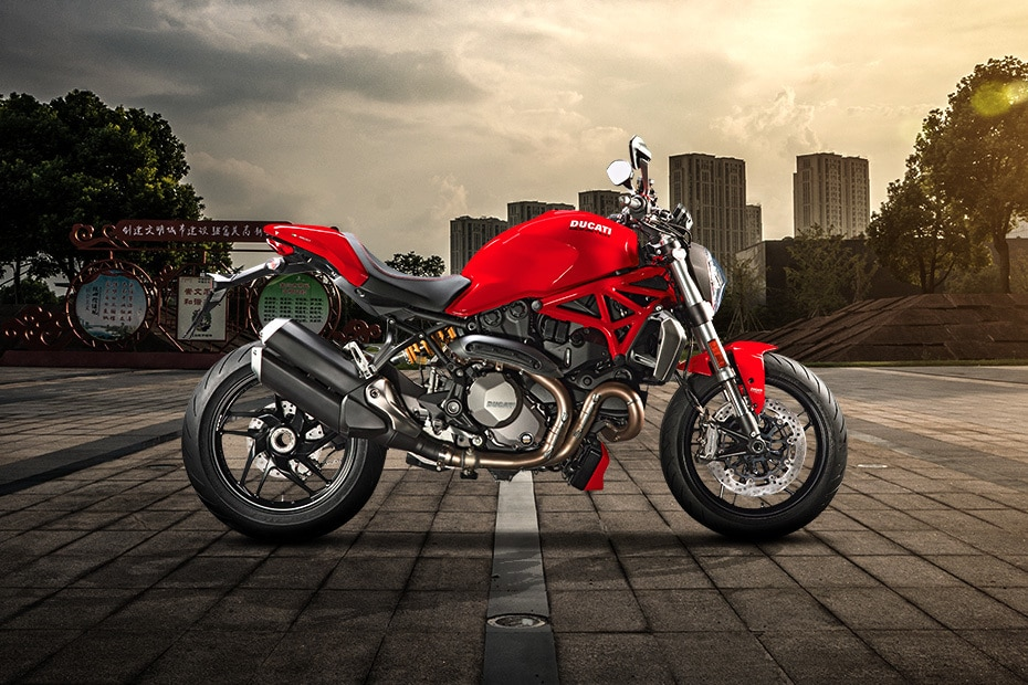 Ducati Monster 1200 Right Side View
