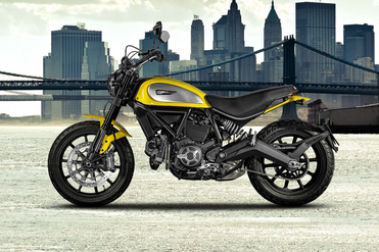 Ducati Scrambler Left Side View