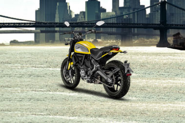 Ducati Scrambler Rear Left View