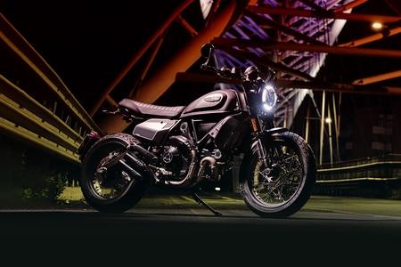 Ducati Scrambler 800 Rear Right View