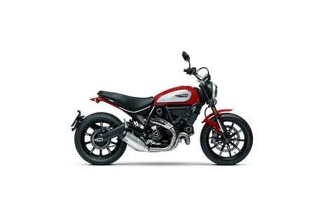 Ducati Scrambler 800 Icon Red Black