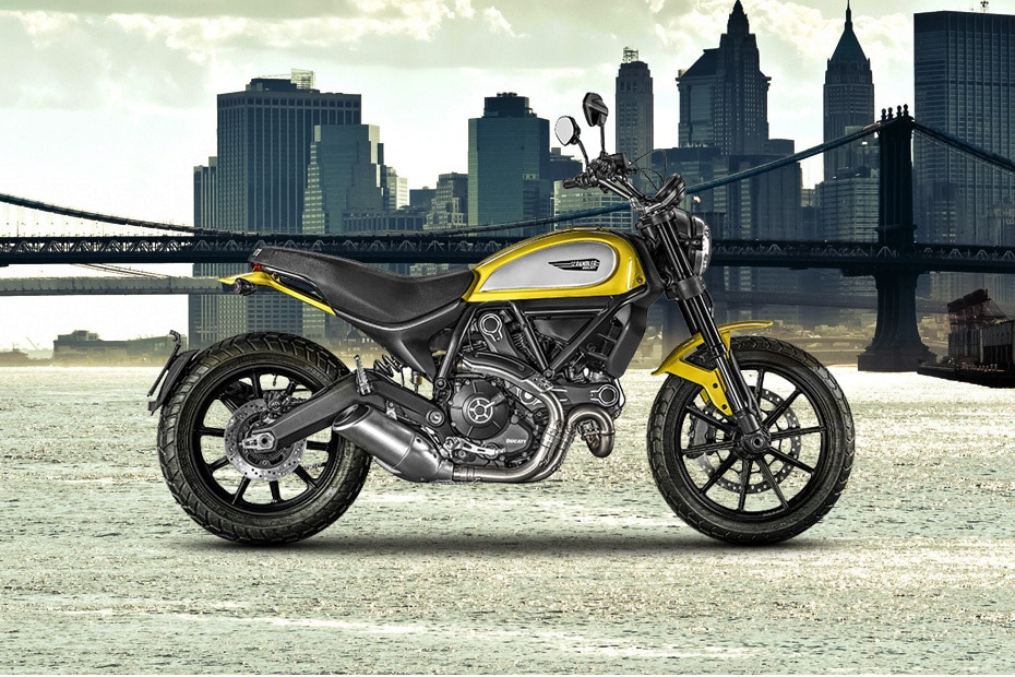 Ducati Scrambler Right Side View