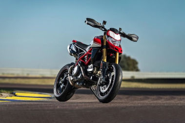 Ducati Hypermotard 950 Front Right View