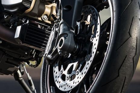 Ducati Hypermotard 950 Front Brake View