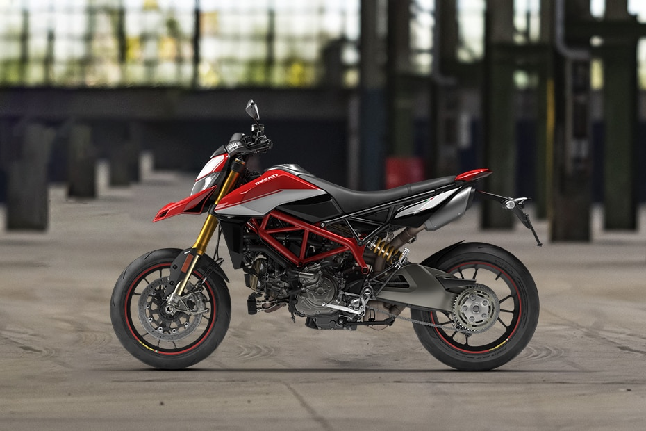 Ducati Hypermotard 950 Left Side View