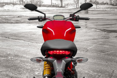 Ducati Monster 797 Handle Bar View