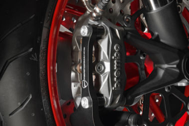 Ducati Monster 797 Front Brake View