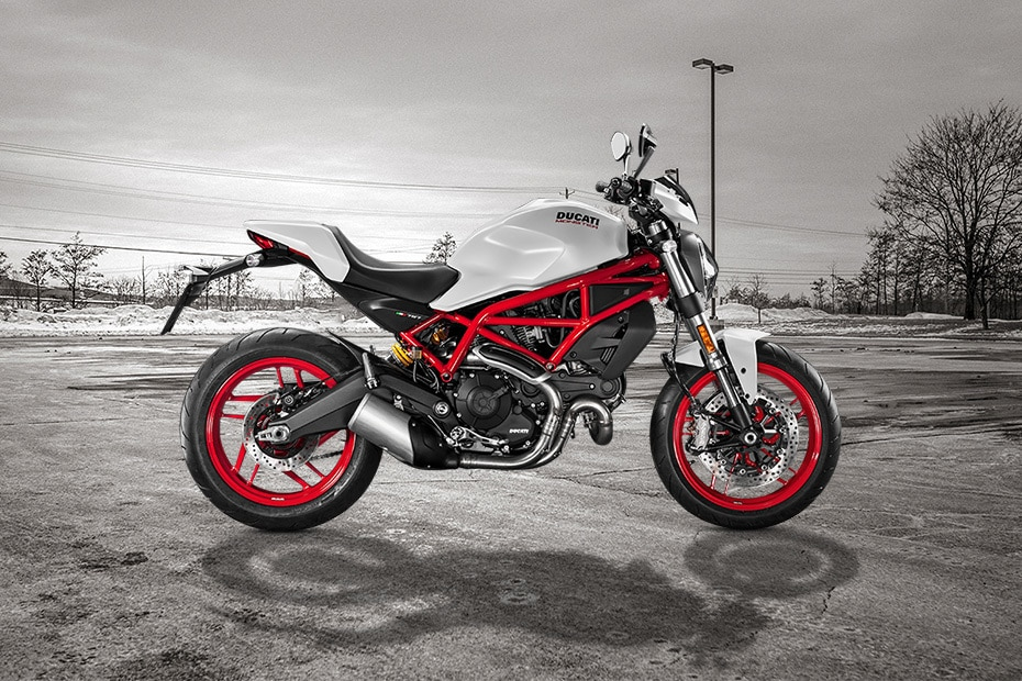 Ducati Monster 797 Right Side View