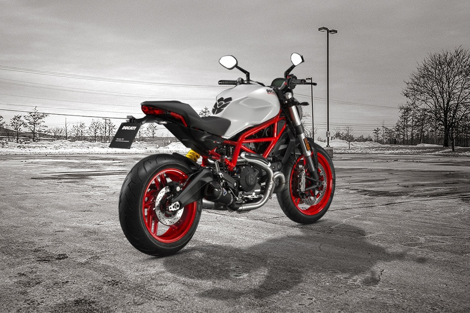 Ducati Monster 797 Rear Right View