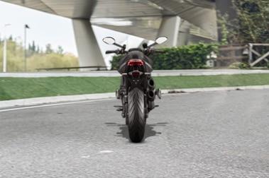 Ducati Monster Rear View
