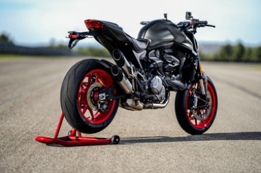 Ducati Monster Rear Right View