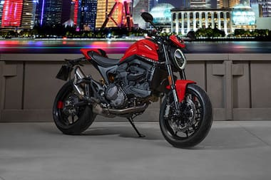 Ducati Monster Front Right View