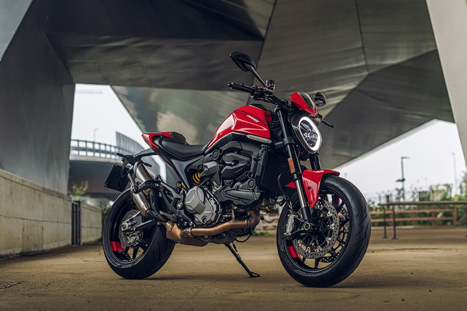 Ducati 2021  Monster Front Right View
