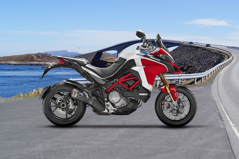 Ducati Multistrada 1260 Right Side View