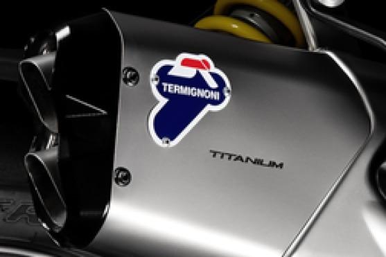 Ducati Multistrada 950 Exhaust View