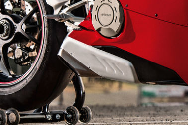 Ducati Panigale V4 Exhaust View
