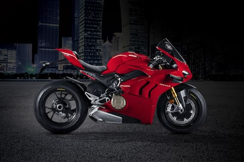 Ducati Panigale V4 Right Side View