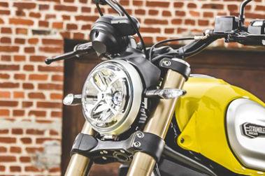 Ducati Scrambler 1100 Head Light
