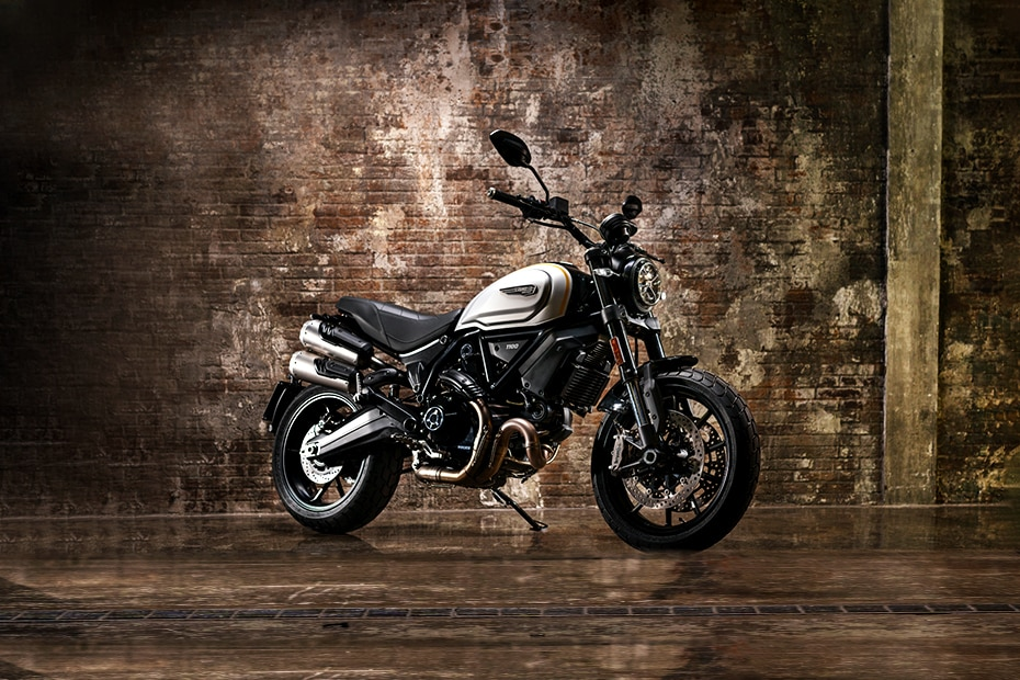 Ducati Scrambler 1100 Front Right View