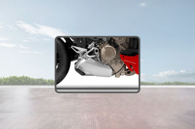Ducati Streetfighter V4 Exhaust View