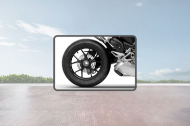 Ducati Streetfighter V4 Rear Tyre View