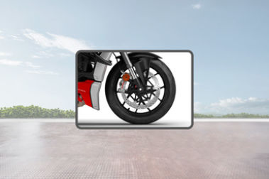 Ducati Streetfighter V4 Front Tyre View
