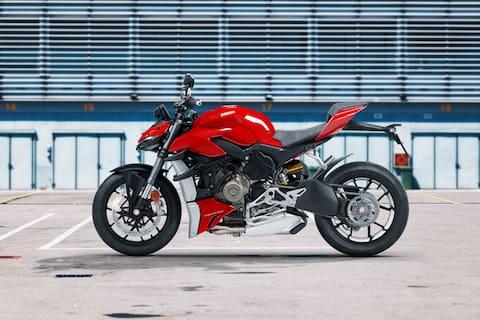 Ducati Streetfighter V4 Left Side View