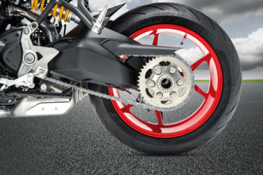 Ducati SuperSport Rear Tyre View