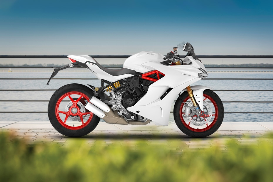 Ducati SuperSport Right Side View