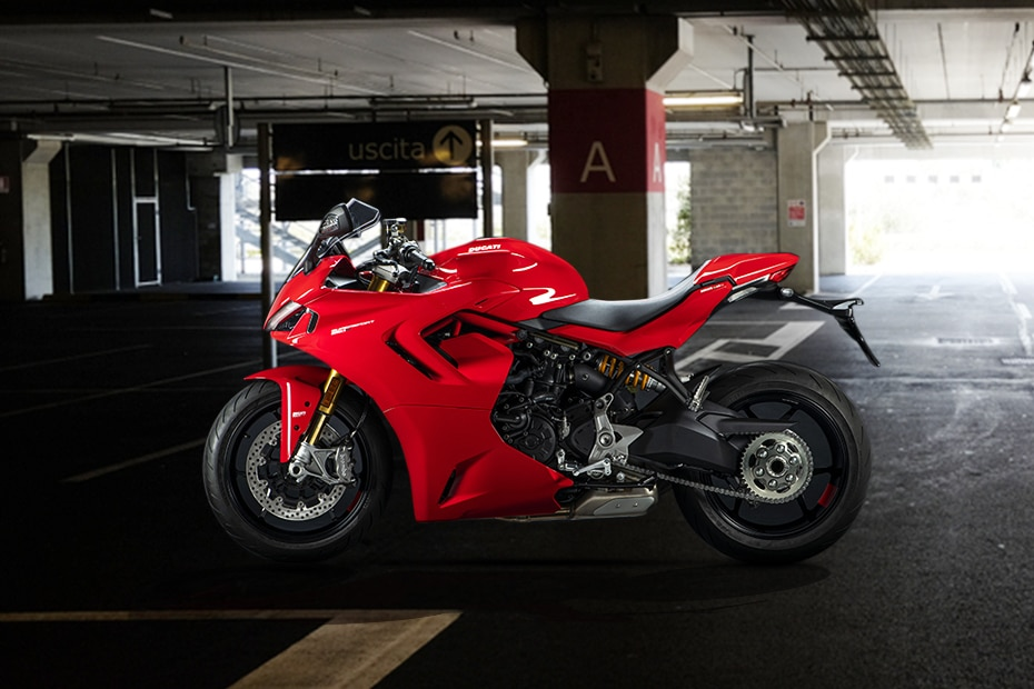 2021 Ducati SuperSport 950 Left Side View