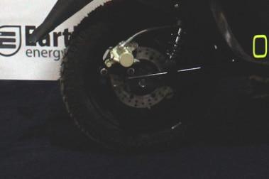 Earth Energy EV Glyde Plus Rear Tyre View