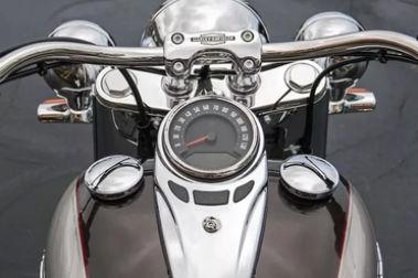Harley Davidson Deluxe Speedometer