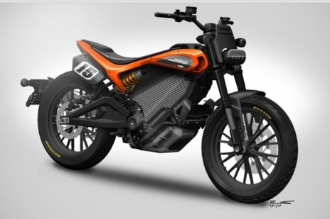 Harley Davidson EDT600R Electric Bike