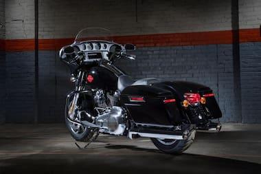 Harley Davidson Electra Glide Standard Rear Left View