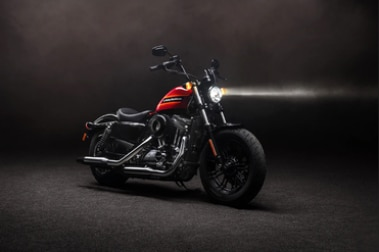 Harley Davidson Forty Eight Special Front Right View
