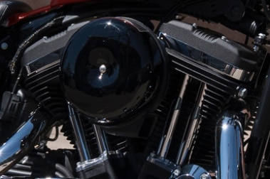 Harley Davidson Forty Eight Special Engine