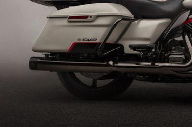 Harley Davidson CVO Limited Rear Tyre View