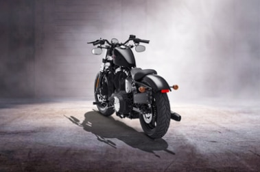 Harley Davidson Forty Eight Rear Left View