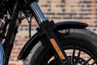 Harley Davidson Forty Eight Front Mudguard & Suspension