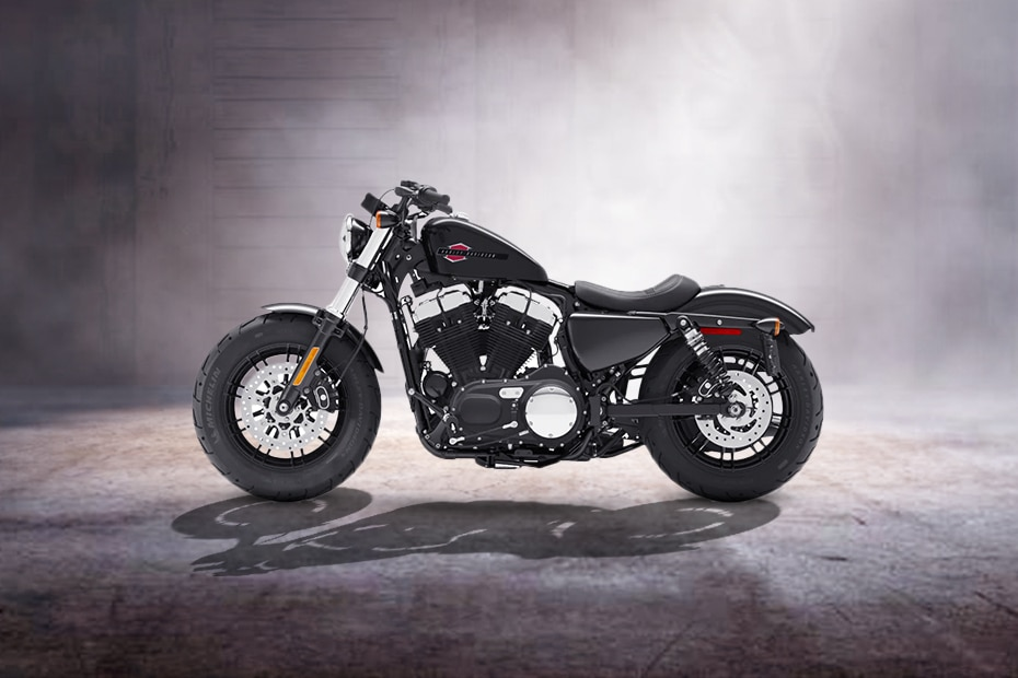 Harley Davidson Forty Eight Left Side View