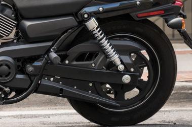 Harley Davidson Street 750 Rear Tyre View