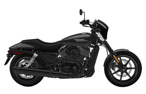 Harley Davidson Street 750 Black Denim