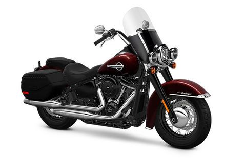 Harley Davidson Heritage Softail Classic Industrial-Gray-Denim