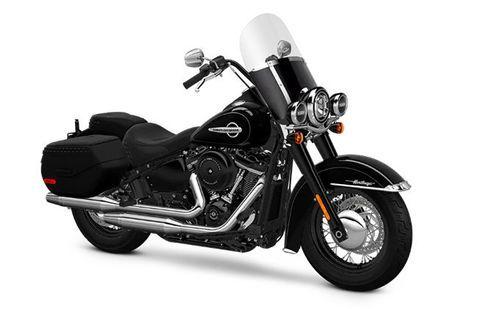 Harley Davidson Heritage Softail Classic Vivid-Black