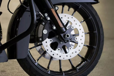 Harley Davidson Road Glide Special Front Brake View
